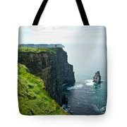 Cliff Of Moher 28 Tote Bag