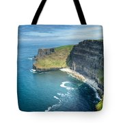 Cliff Of Moher 32 Tote Bag