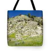 Cliff Side Panorama Tote Bag