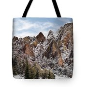 Cliff Texture Tote Bag