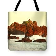Cliffs In The Warm Evening Light Tote Bag