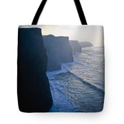 Cliffs Of Moher,co Clare,irelandview Of Tote Bag