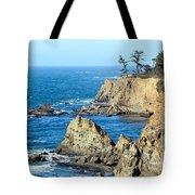 Cliffside Oceanview Tote Bag