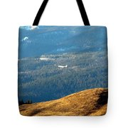 Climbing Skyward Tote Bag by Will Borden