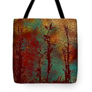 Climbing Unknown Horizons Tote Bag