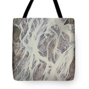 Cline River Showing Heavy Siltation Tote Bag