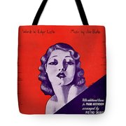 Cling To Me Tote Bag