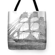 Clipper Ship, 1850 Tote Bag