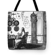 Clockmaker Tote Bag by Science Source