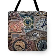 Clocks Of Paris Tote Bag