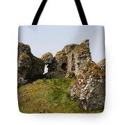 Clonmacnoise Castle Ruin - Ireland Tote Bag