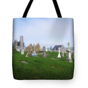 Clonmacnoise Monastery, County Offaly Tote Bag