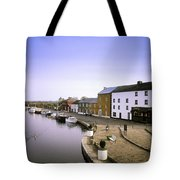Cloondara, Co Longford, Ireland Town At Tote Bag