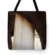 Clos-up Of An Asian Elephants Massive Tote Bag