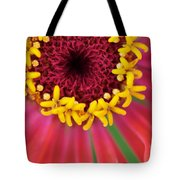 Close Up Dahlia Tote Bag