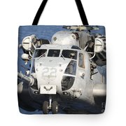 Close-up Of A Ch-53 Sea Stallion Tote Bag