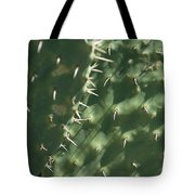 Close-up Of A Prickly Pear Cactus Tote Bag