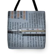 Close Up Of A Thermometer Tote Bag