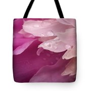 Close-up Of Pink Flower Tote Bag