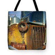Close Up Of Rusty Truck Tote Bag