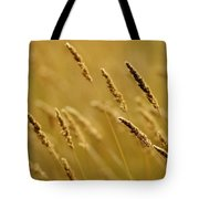 Close-up Of Wheat Tote Bag