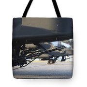 Close-up View Of The M230 Chain Gun Tote Bag