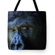 Close View Of A Gorilla Gorilla Gorilla Tote Bag
