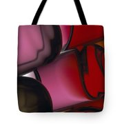 Close View Of Colored Water, Imitating Tote Bag