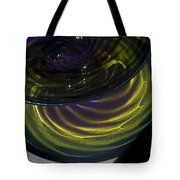 Close View Of Glass Bowl Tote Bag