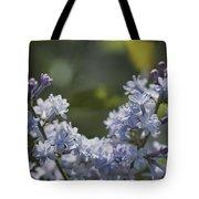 Close View Of Hyacinth Lilacs Syringa Tote Bag