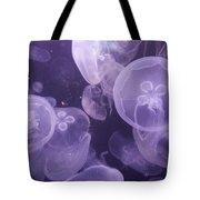 Close View Of Jellyfish Tote Bag