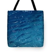 Close View Of The Ocean Shows Tote Bag