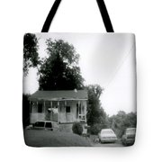 Clothesline On The Porch Tote Bag