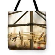 Clothespins On The Line Tote Bag