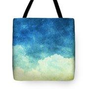 Cloud And Sky Tote Bag by Setsiri Silapasuwanchai