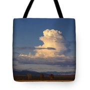 Cloud Over San Luis Valley Tote Bag