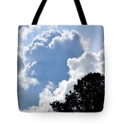 Cloud Power Tote Bag