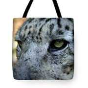 Clouded Leopard Face Tote Bag