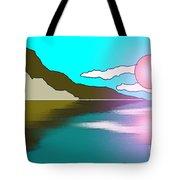 Clouded Sunrise Tote Bag