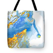 Cloudia Of The Clouds Tote Bag