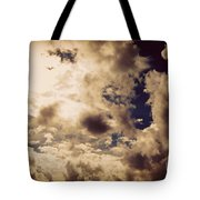 Clouds-8 Tote Bag