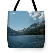 Clouds Above Emerald Bay Tote Bag
