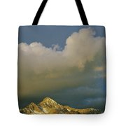 Clouds Above Mount Wilson Tote Bag