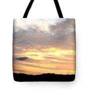 Clouds Afire Tote Bag