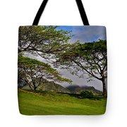 Clouds And Kiawe Tote Bag