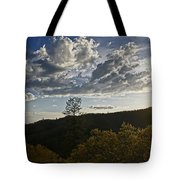 Clouds At Sunset II Tote Bag