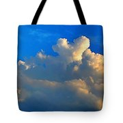 A Heart On Top Of The Clouds Tote Bag