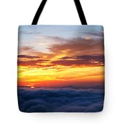 Clouds From Haven. Tote Bag