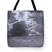 Clouds Gathering Tote Bag