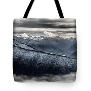Clouds In The Valley Tote Bag